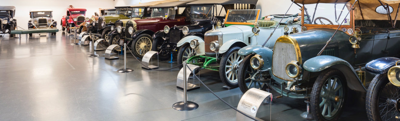 National Motor Museum exhibitions