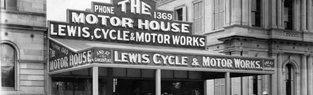 Lewis Motor House (Leon Mitchell)